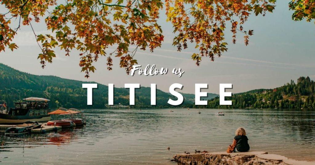 德國黑森林 Titisee 蒂蒂湖