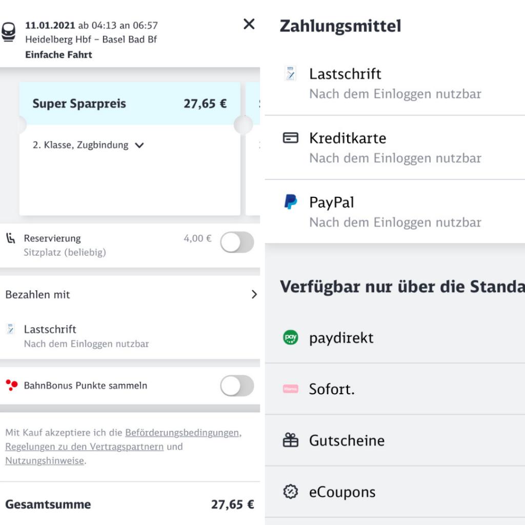 德國國鐵app「DB Navigator」