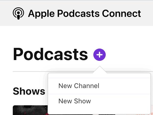 提交Podcast節目到Apple Podcast