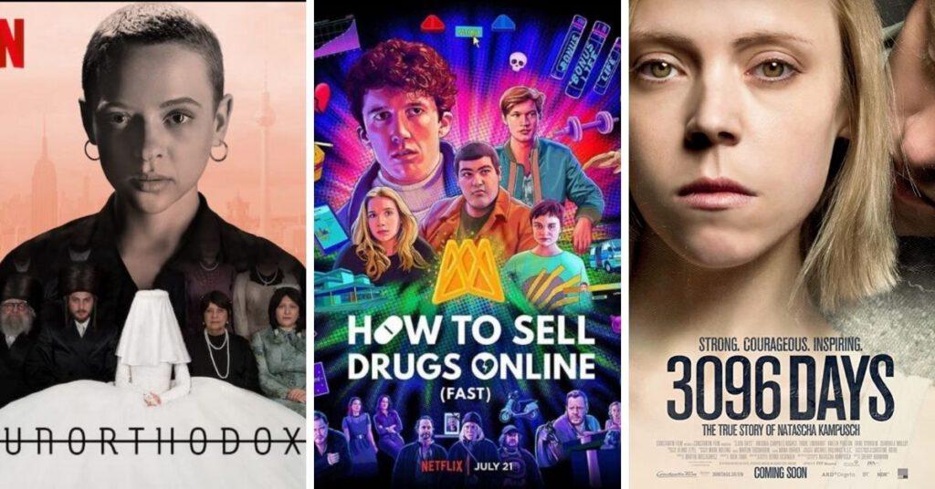 德國Netflix:Unorthodox/ How to sell drugs online / 3096 Tage